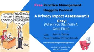 Practice Management Nuggets Podcast How to Plan a PIA